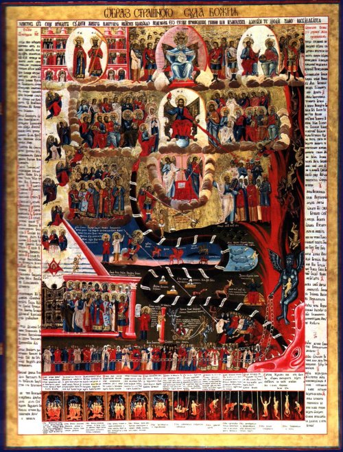 Last Judgment  - Russian icon from the 18thcentury – Wikipedia, LastJudgment