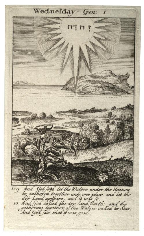 Wenceslaus Hollar, Genesis 1, Wednesday, University of Toronto