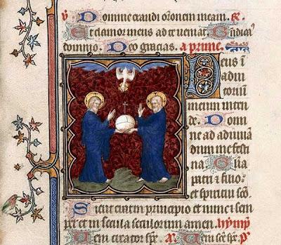 Petites Heures de Jean de Berry, fol. 70 Maître de la Trinité, c. 1385-1390, from BNF, Bestiaire du Moyen Age