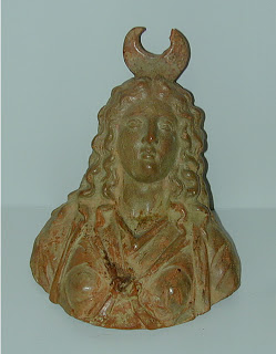 Isis, terracotta, 4th century, from  Stellenbosch University site, Department of Ancient Studies
