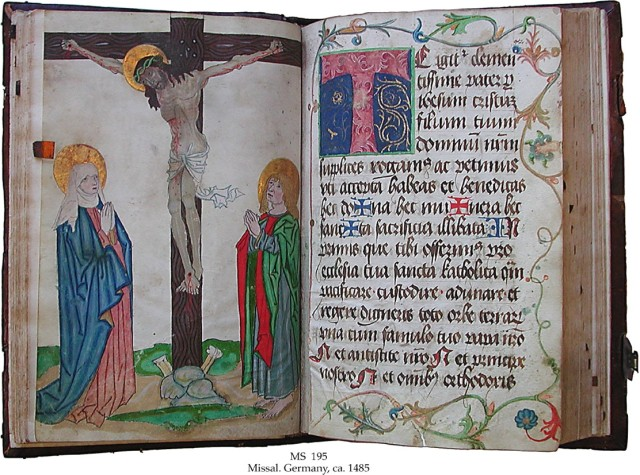 Missal from Southern Germany, c. 1485 - from the Schoyen Collection