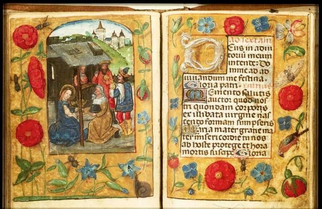 Book of hours, c. 1500 - from Koninkljike Bibliotheek
