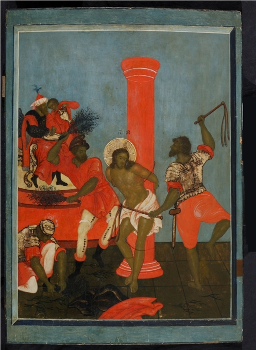 Flagellation of Christ, Ostankino Museum, c. 16-17 century, from Wikimedia Commons