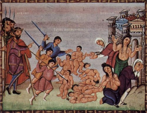 The Massacre of the Innocents – Kerald, master of Codex Egberti – Wikipedia, Massacre of the Innocents