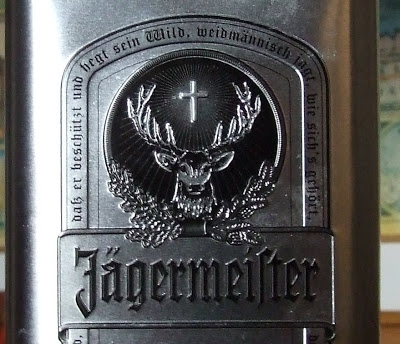Bottle of Jagermeister (empty)