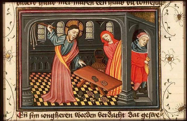 History Bible, fol. 152r.,c. 1430 - from Koninkljike Bibliotheek, Medieval Manuscripts