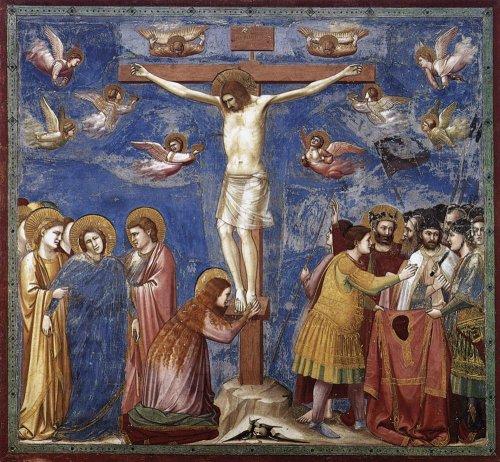 Crucifixion of Christ - Giotto, Capela Scrovegni, Padua - from WebGallery of Art
