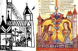 Ascension in the Codex from Rohonc and in the Hval Gospel