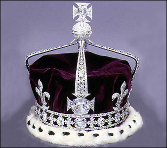 Crown of Queen Elizabeth The Queen Mother,  from The British Monarchy