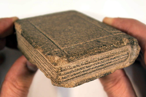 Stone Bible - from University of Newcastle Cultural Collections