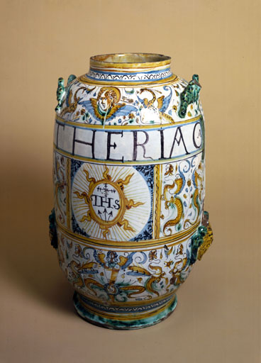 Theriac jar, 1641, from Science Museum, Science and Society Picture Library (by permission)